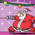 Weihnachtsmann Florett