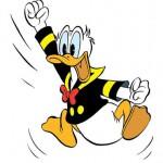 Jubel Donald Duck