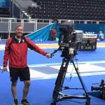 Baku Hannes als Kameramann